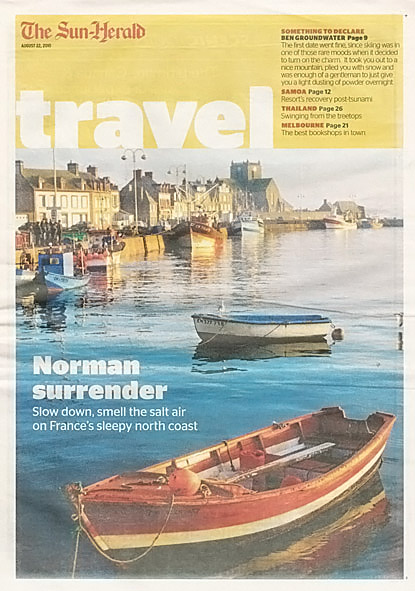 Cover story and centre spread.