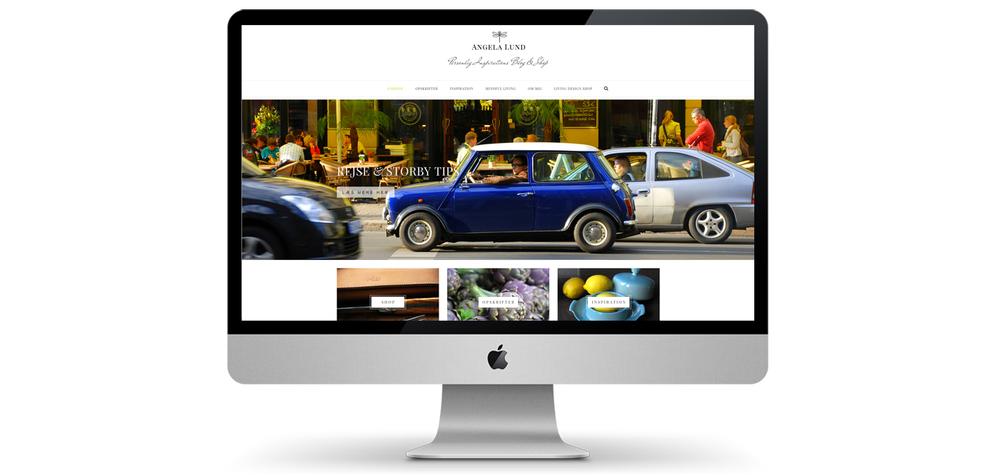 Blog og shop