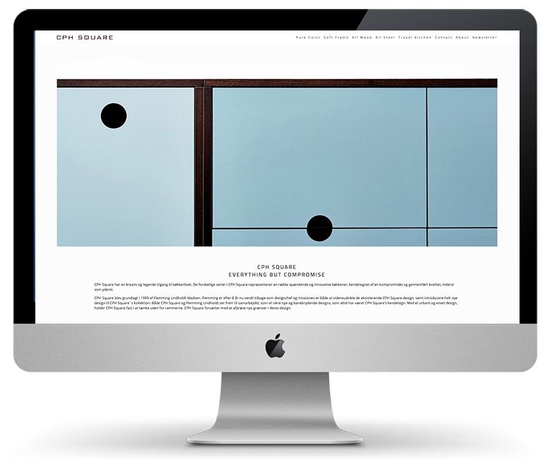 CPH SQUARE Web design