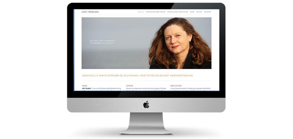 Hjemmeside til Lene Hesseldal
