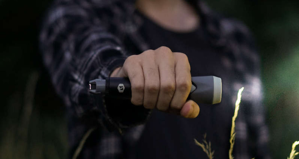 Sparkr | Fire & Light in One  - Light up the night with a flameless plasma lighter and flashlight in one USB rechargeable tool.
