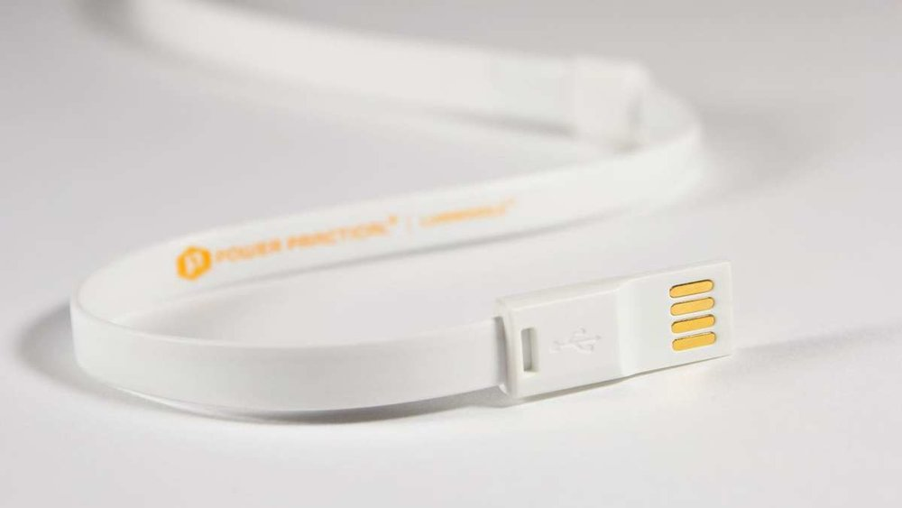 POWERED BY USB - Plug your Luminoodle into a USB battery pack, wall adapter, or any USB power source.