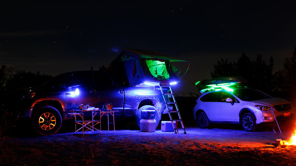 LUMINOODLE COLOR - The Luminoodle Color is 1.5 meter of waterproof, flexible, ultra-bright light that you can use in nearly any situation. From camping to your home or even the next music festival, the Luminoodle Color will take your nighttime activities to the next level.