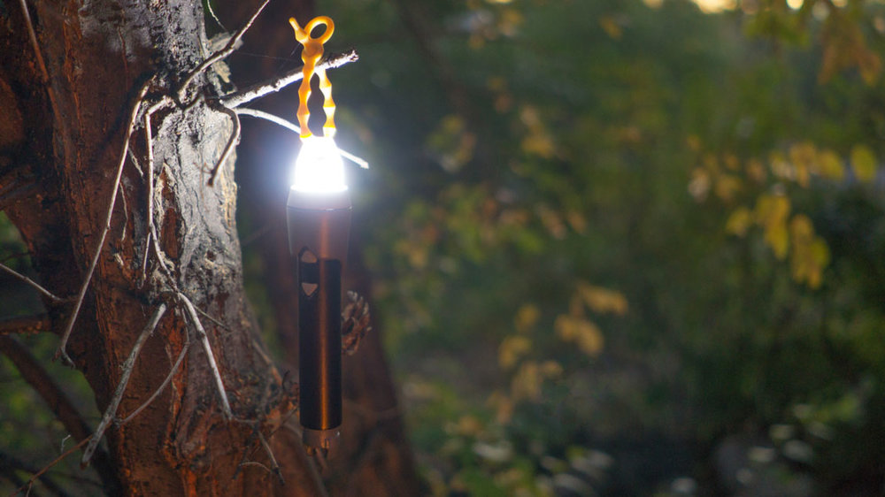 MAKE YOUR FLASHLIGHT INTO A LANTERN -