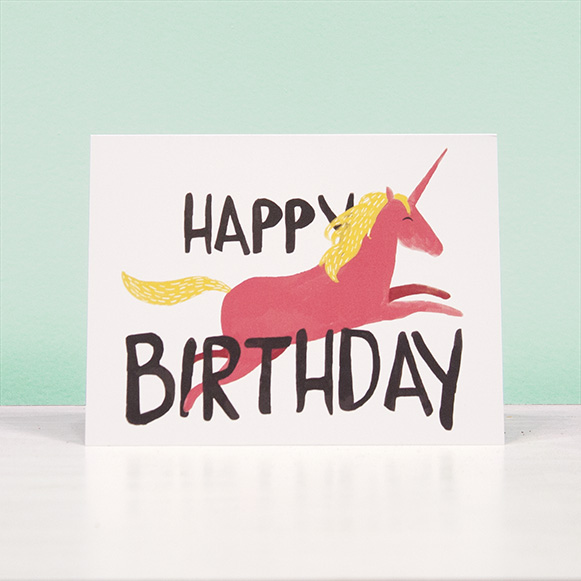 Happy Birthday Unicorns!