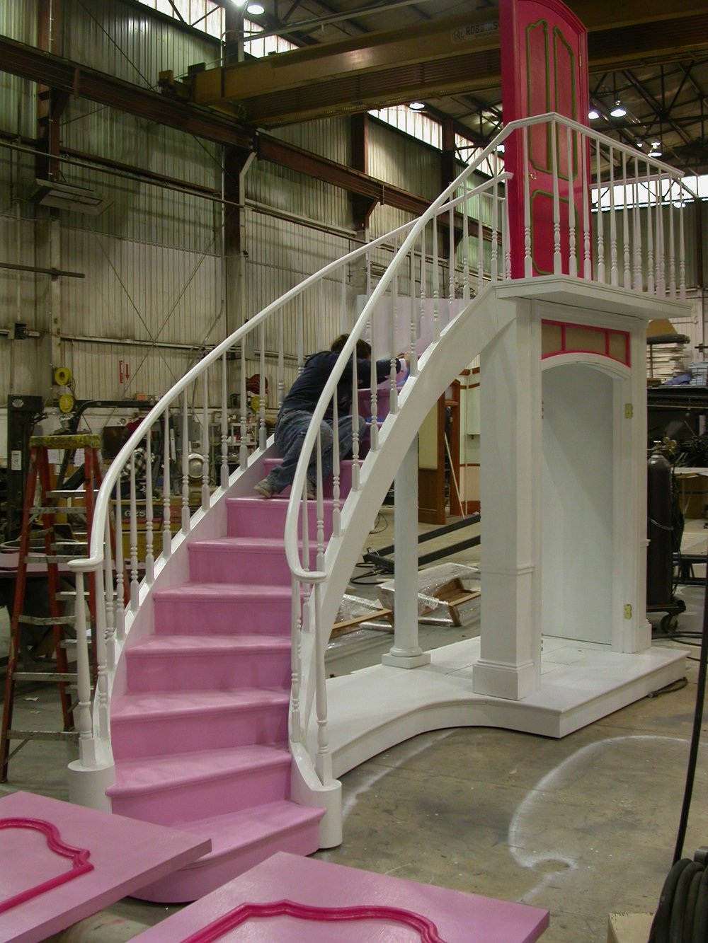 Legally Blonde Stairs1.JPG