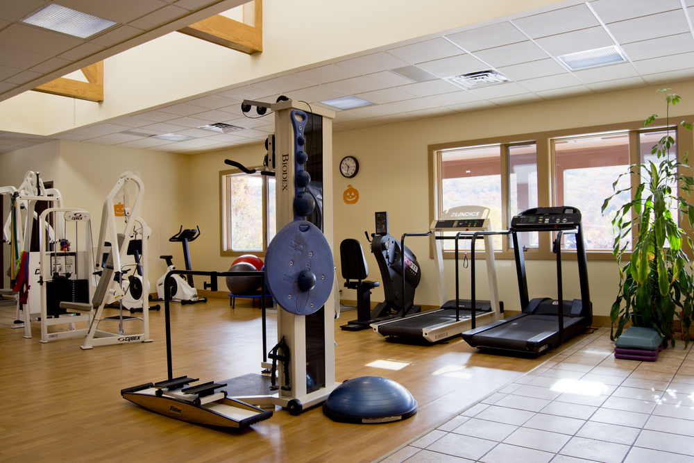 Our facility is a s  pacious, free standing state-of-the-art-building equipped with the finest Rehabilitation equipment.