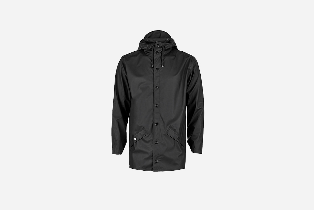 Rains - Jacket, Black
