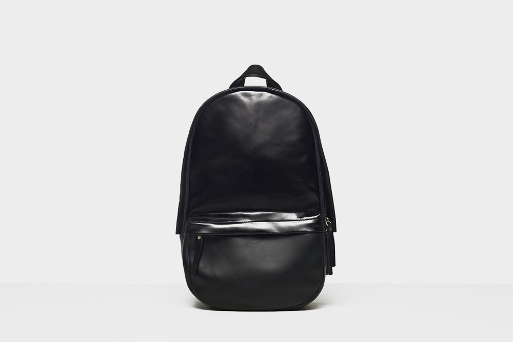 Haerfest - Capsule Backpack Black Leather