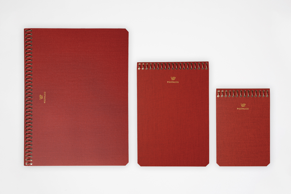 Postalco - Notebook Red