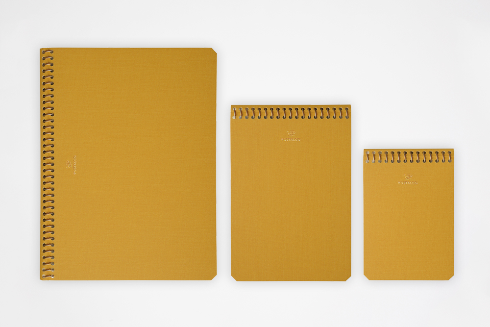 Postalco - Notebook Yellow