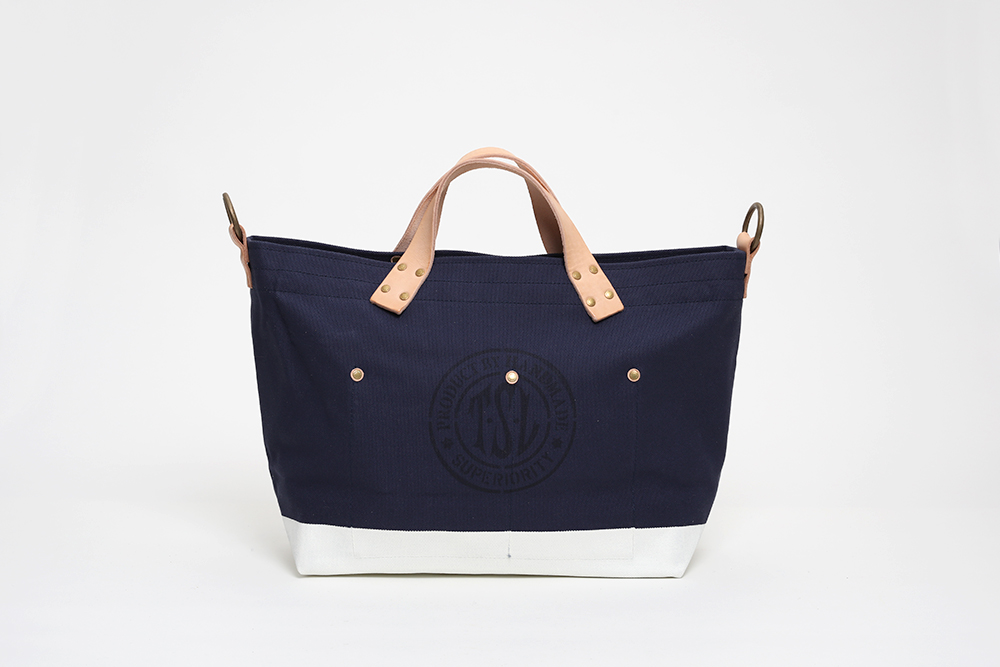 Superior Labor - Engineer Tote Small Navy / White