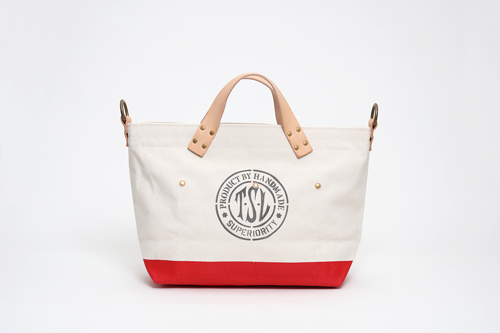 Superior Labor - Engineer Tote Small Natural / Red