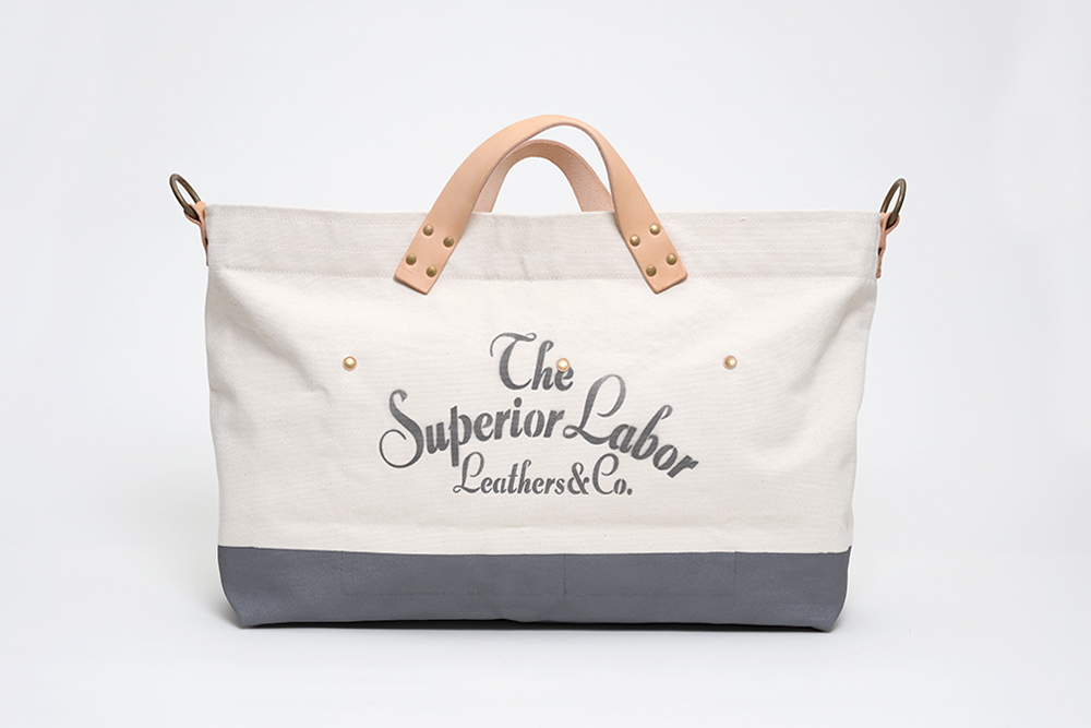 Superior Labor - Engineer Tote Large Natural / Gray