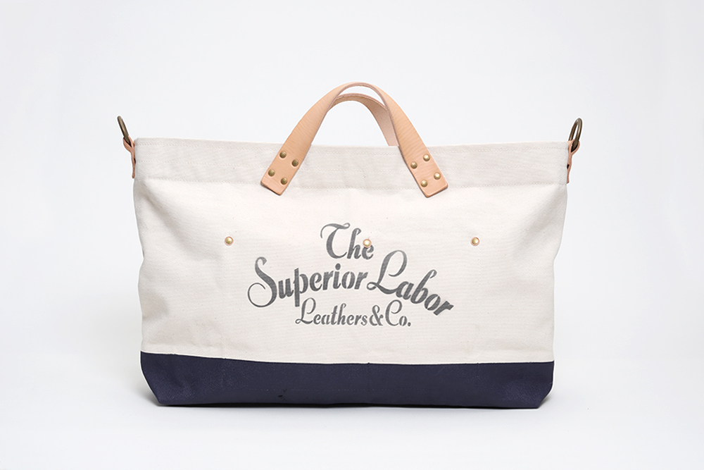 Superior Labor - Engineer Tote Large Natural / Navy