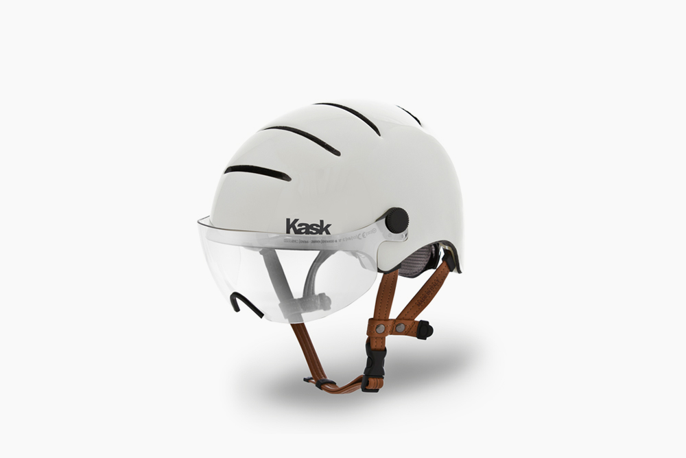 Kask Urban Helmet - Gloss Avorio Incredibly stylish, astonishingly comfortable. Ride in style, rain or shine, in an Italian Made - Kask Helmet. Safety is sexy. $239