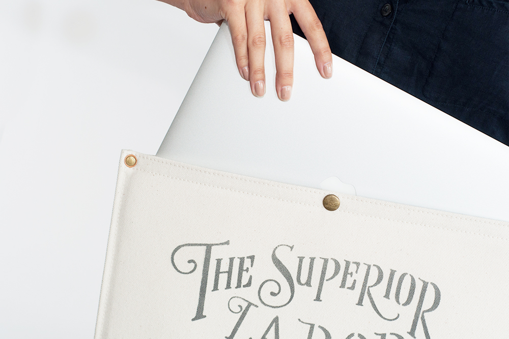 Superior Labor - Laptop Cases Designed and made in Japan, the laptop case is a simple, clean and functional protector for your computer and comes in multiple sizes.  From $60