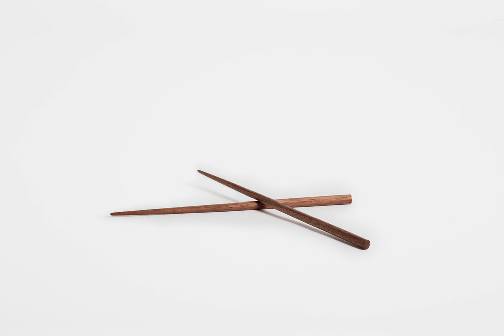 SyuRo - Chopsticks, Walnut