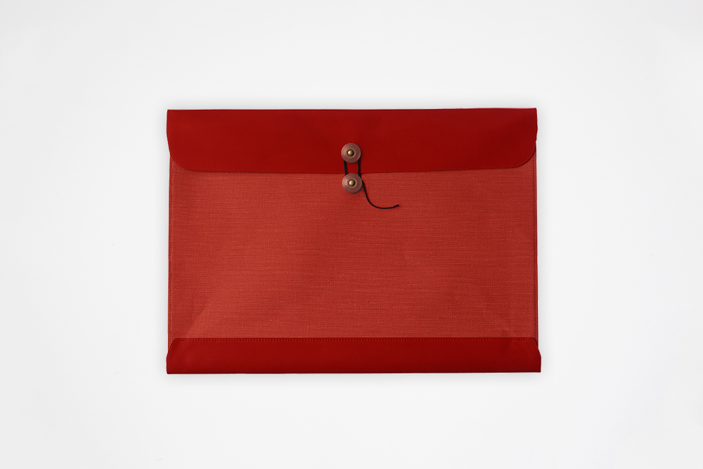 Postalco - Legal Envelope, Signal Red