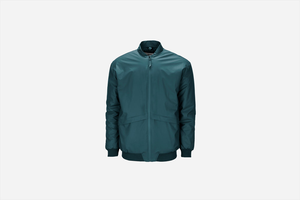Rains - B15 Jacket, Dark Teal