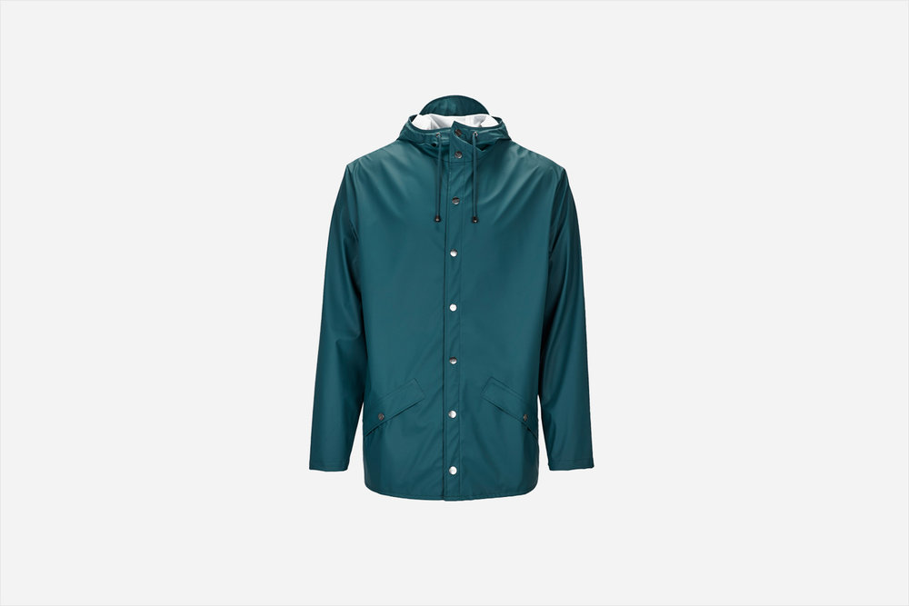 Rains - Jacket, Dark Teal