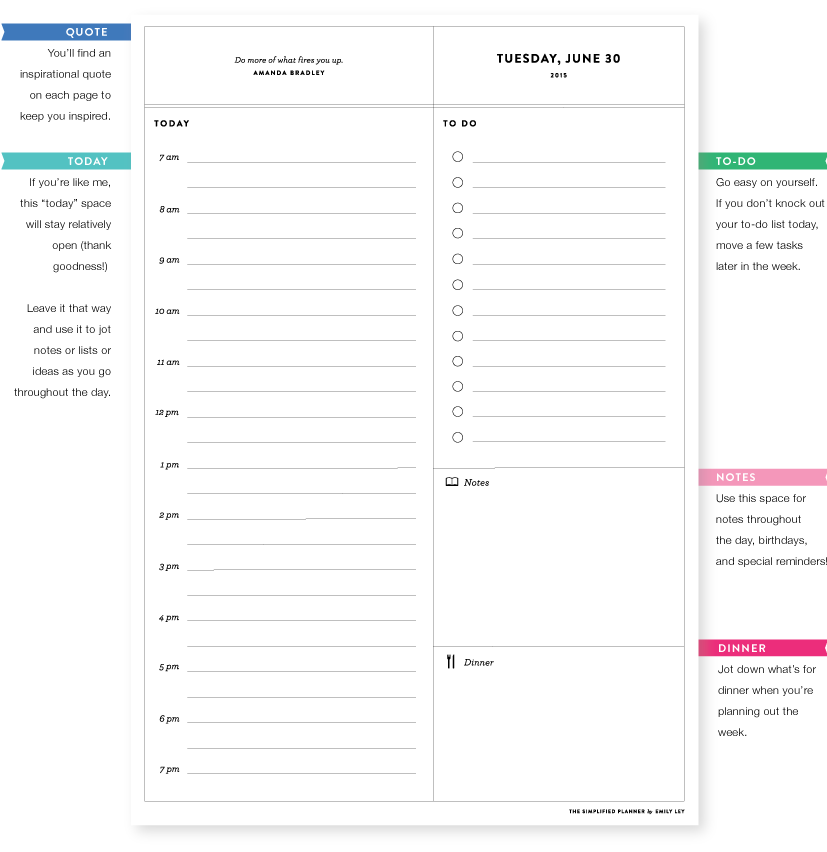 daily planner online