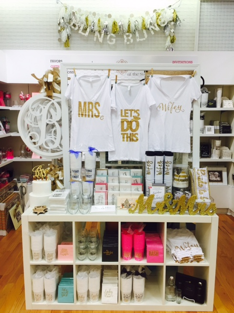 In-Store Wedding Shop