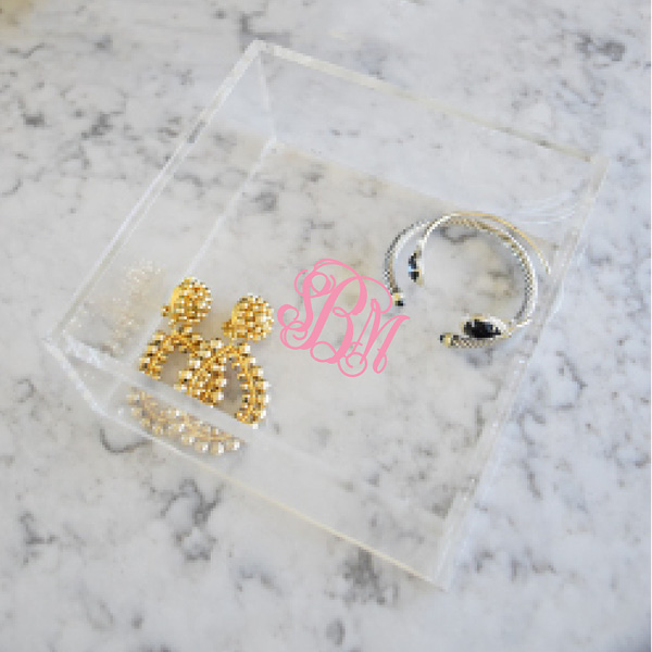 Personalized Acrylic Tray