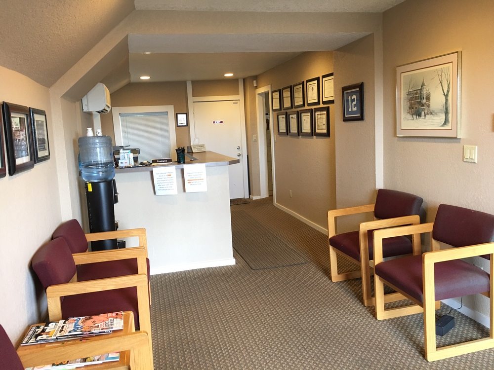 Patient Reception Area