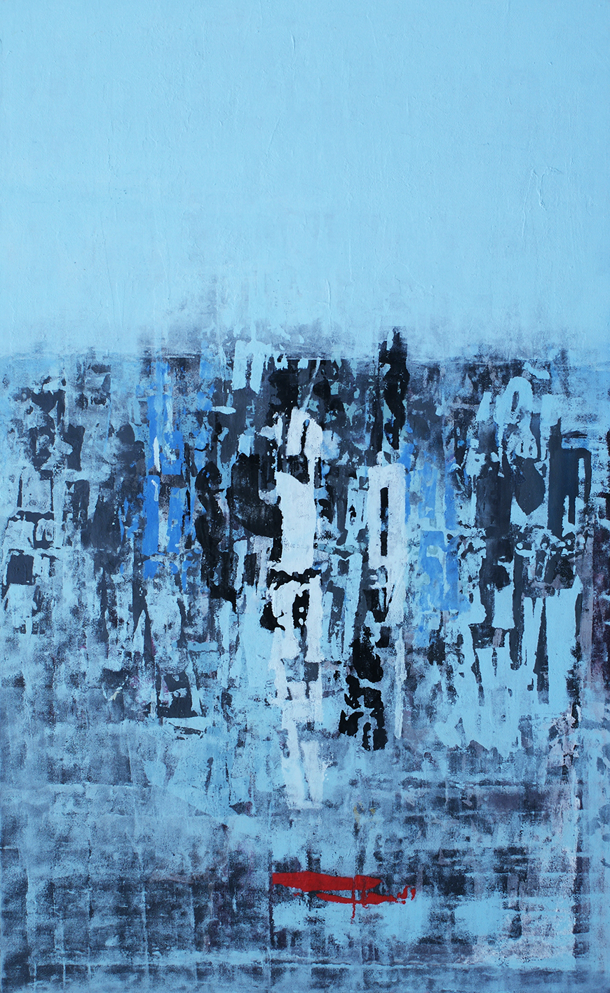 Doppio Tempo Acrylic on canvas 120 x 77 cm 2012