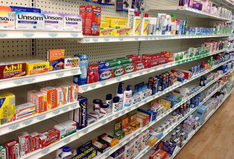 <b>Pharmacy Store Shelving</b>