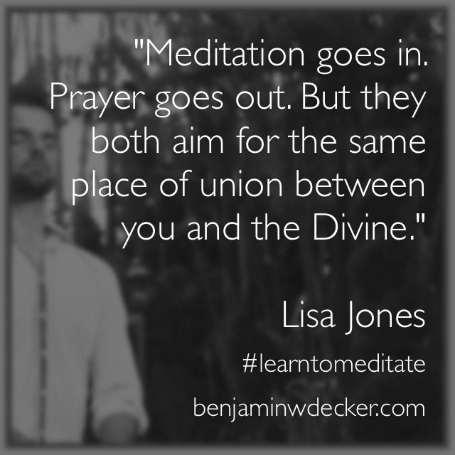 Lisa Jones Meditation Quote