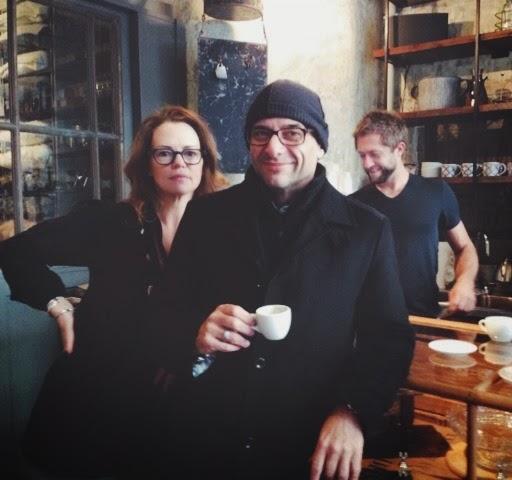 Betsy (ALT team) & Mark Lippmann.