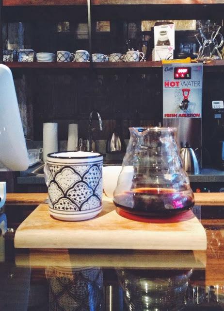 Freshly brewed afternoon coffee. Loving the mug