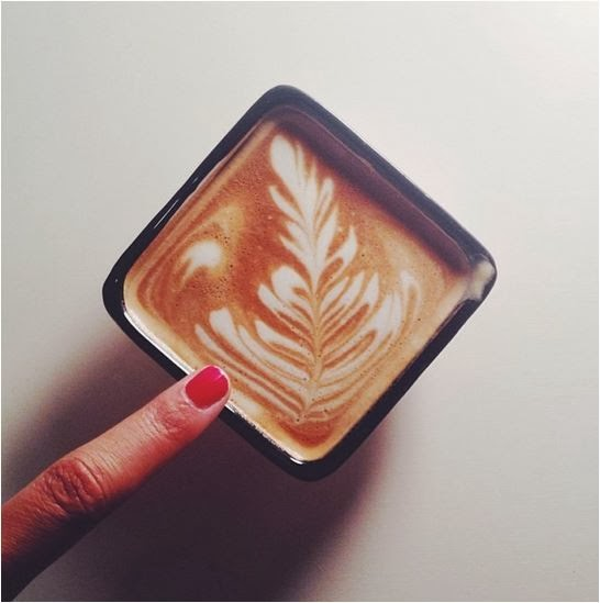 A customized cortado from A Little Taste.