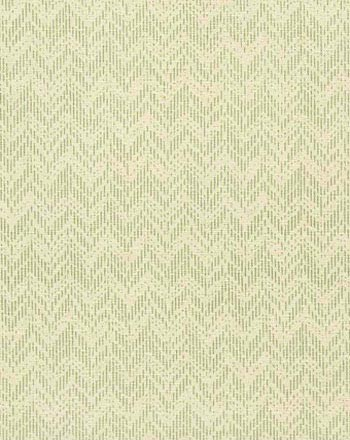 BRIDGET I COLOR #9 A refined celery chevron print.                         Printed on 100% silk, Matka Off White.