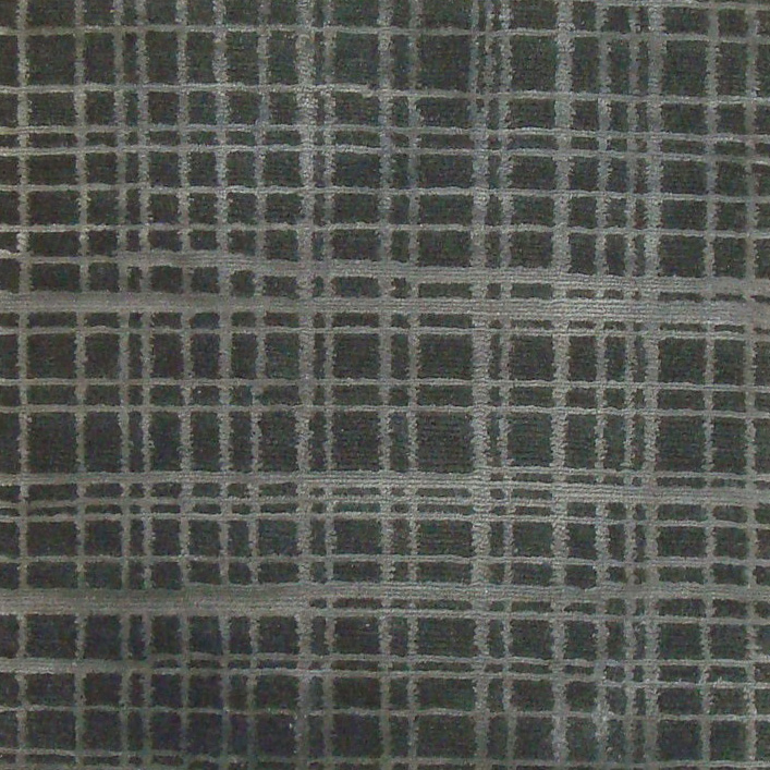 54. GRIDLOCK I CHROME I 7-3 Wool & Silk