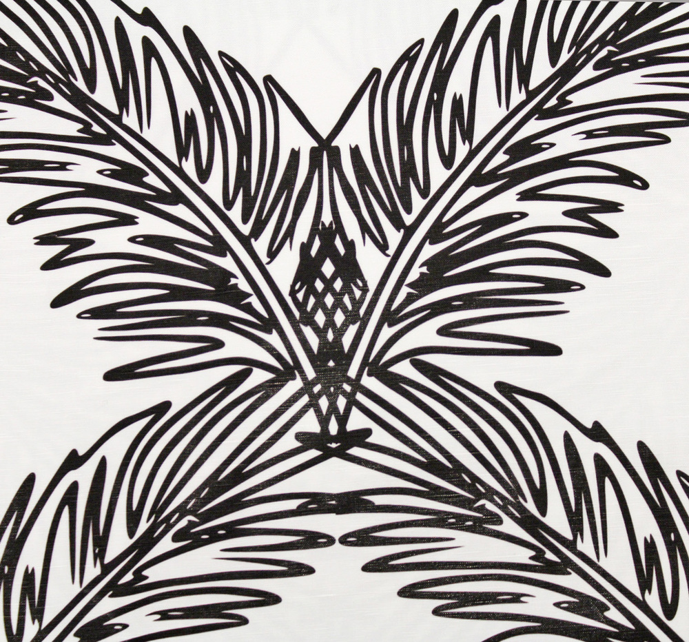 PALM TRELLIS I BLACK