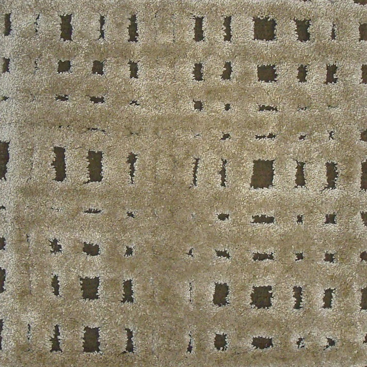 64. GRIDLOCK HI-LOW Bamboo Silk & Wool