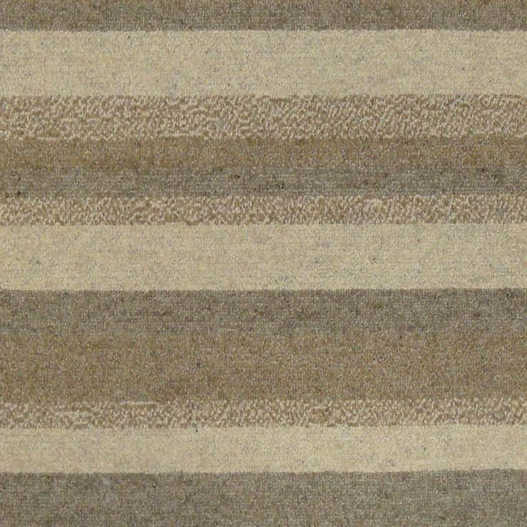 71. NATURAL BOLD STRIPE 100% Natural Undyed Wool