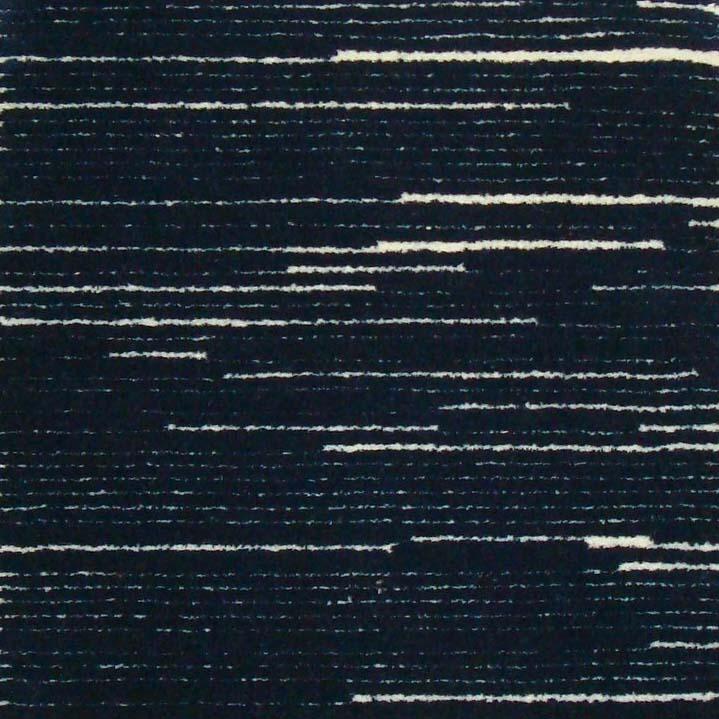 104. ORGANIC STRIPE I NAVY Wool & Flax