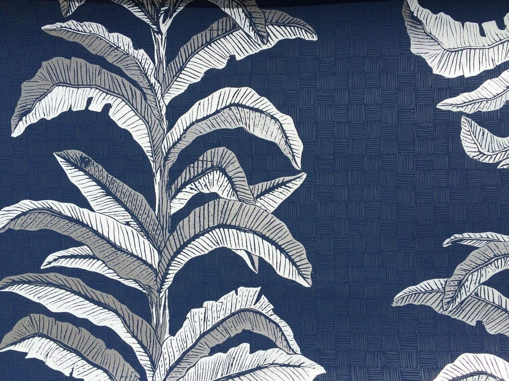 KRANE                                                         Banana Leaf I Navy