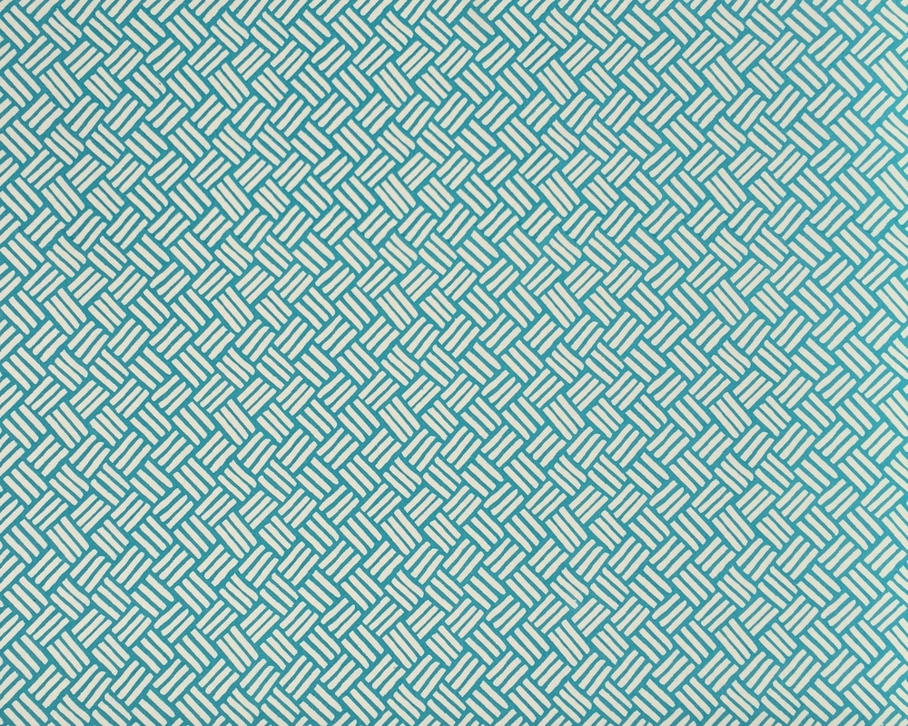 KRANE                                                Basketweave I Teal