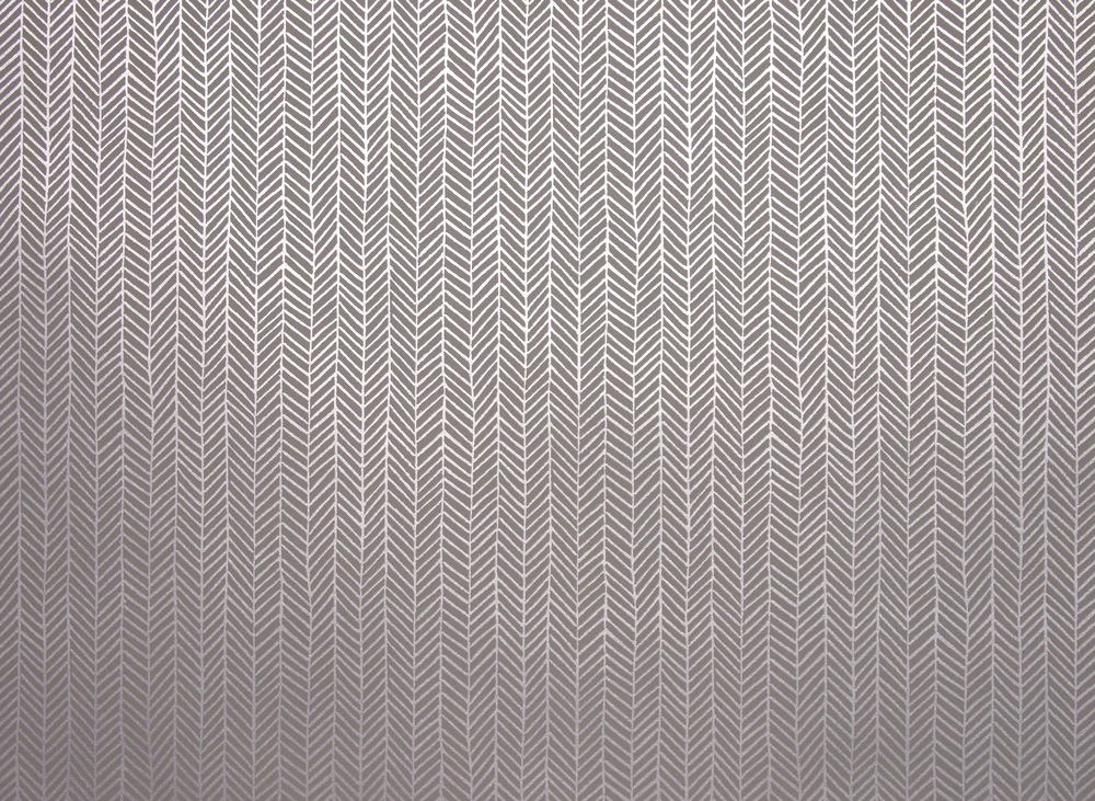 KRANE HOME                        Herringbone I Silver