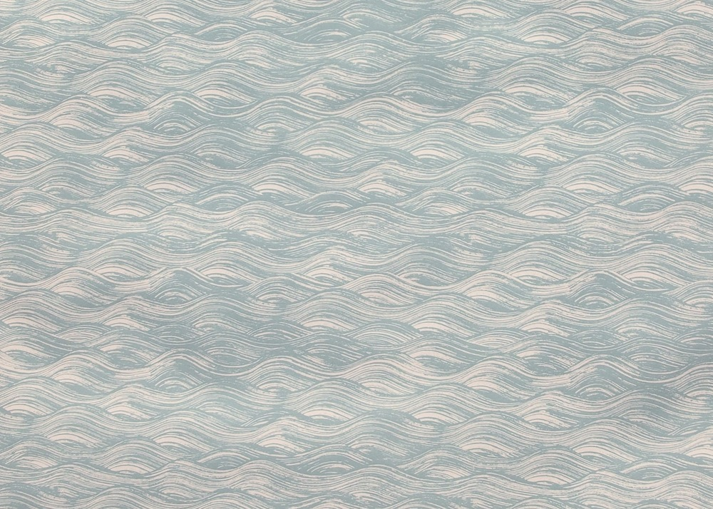 KRANE                                                          Painted Wave I Celadon