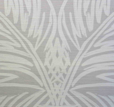 VICTORIA LARSON                    Palm Trellis I Driftwood Reverse