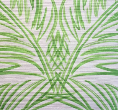 VICTORIA LARSON                    Palm Trellis I Green