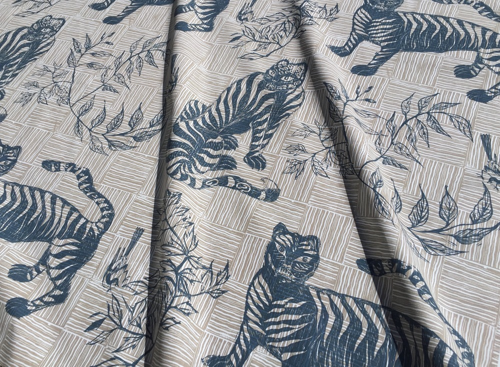 TIGER & MAGPIE I BLUE