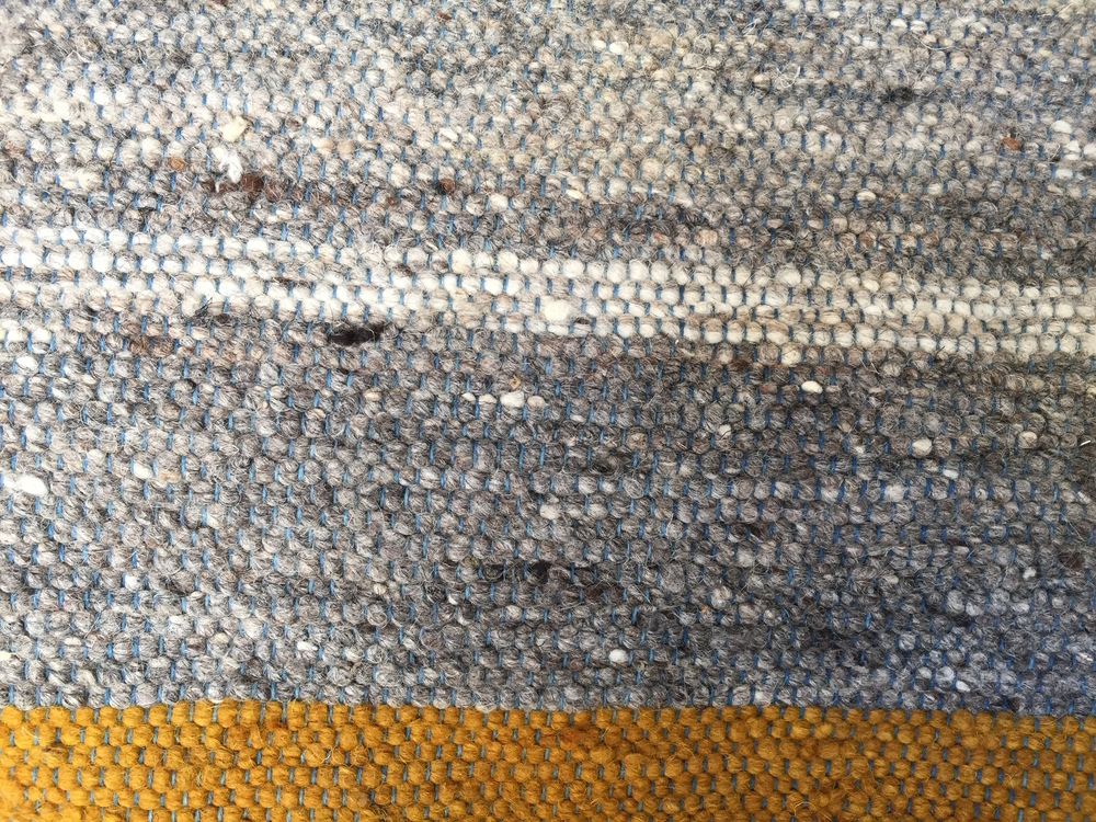 NATURAL STRIPE I LIGHT GRAY & YELLOW