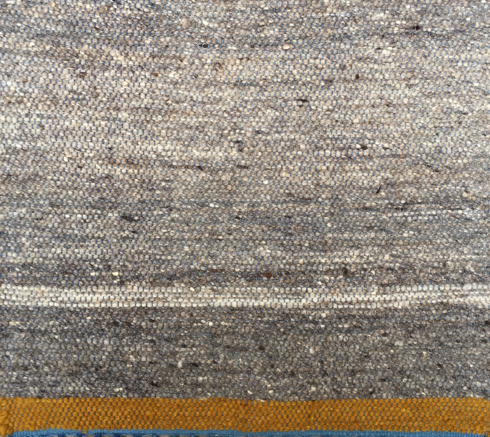 NATURAL STRIPE I MEDIUM GRAY & YELLOW